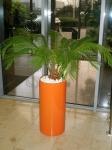 Pillar orange planter