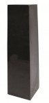 'Tower' tall planter in aged slate effect